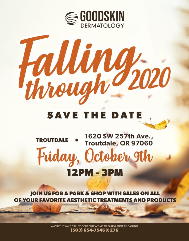 cosmetic special fall open house